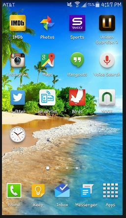 Taking A ScreenShot withAndroid