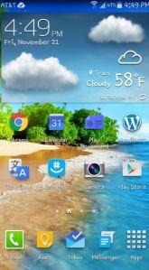 note 4 home screen shot