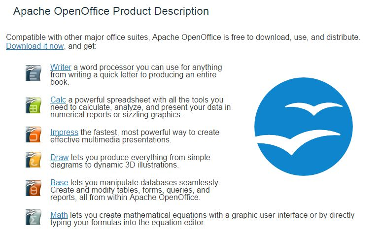 open office description
