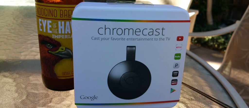 chromecast and beer