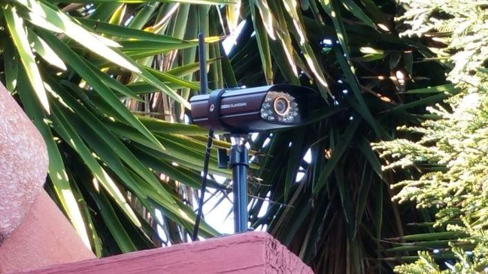 outside camera