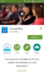 crowd mics on google play