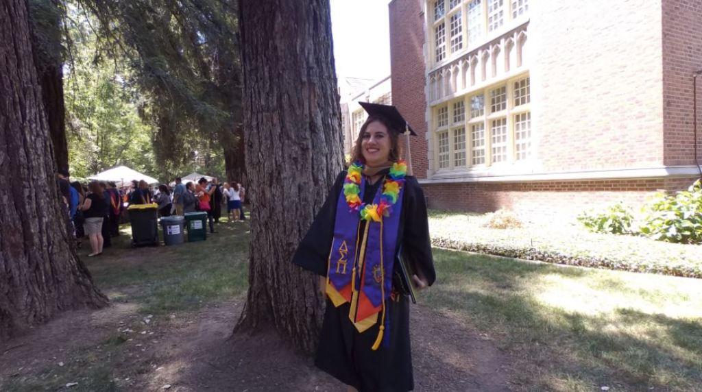 Kristen graduates from UOP