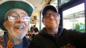 old guys selfie