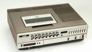 old vhs recorder