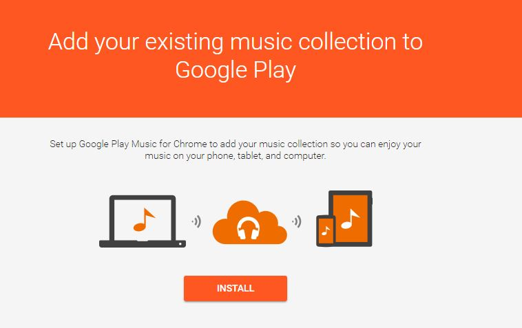add your music install