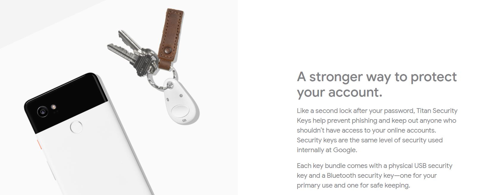 security dongle on keychain