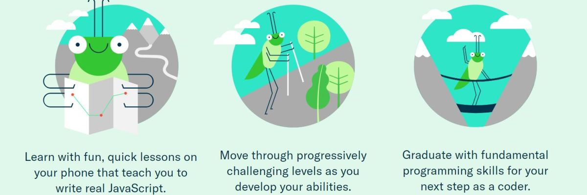 Grasshopper Learn To Code In Javascript By Googles Area 120