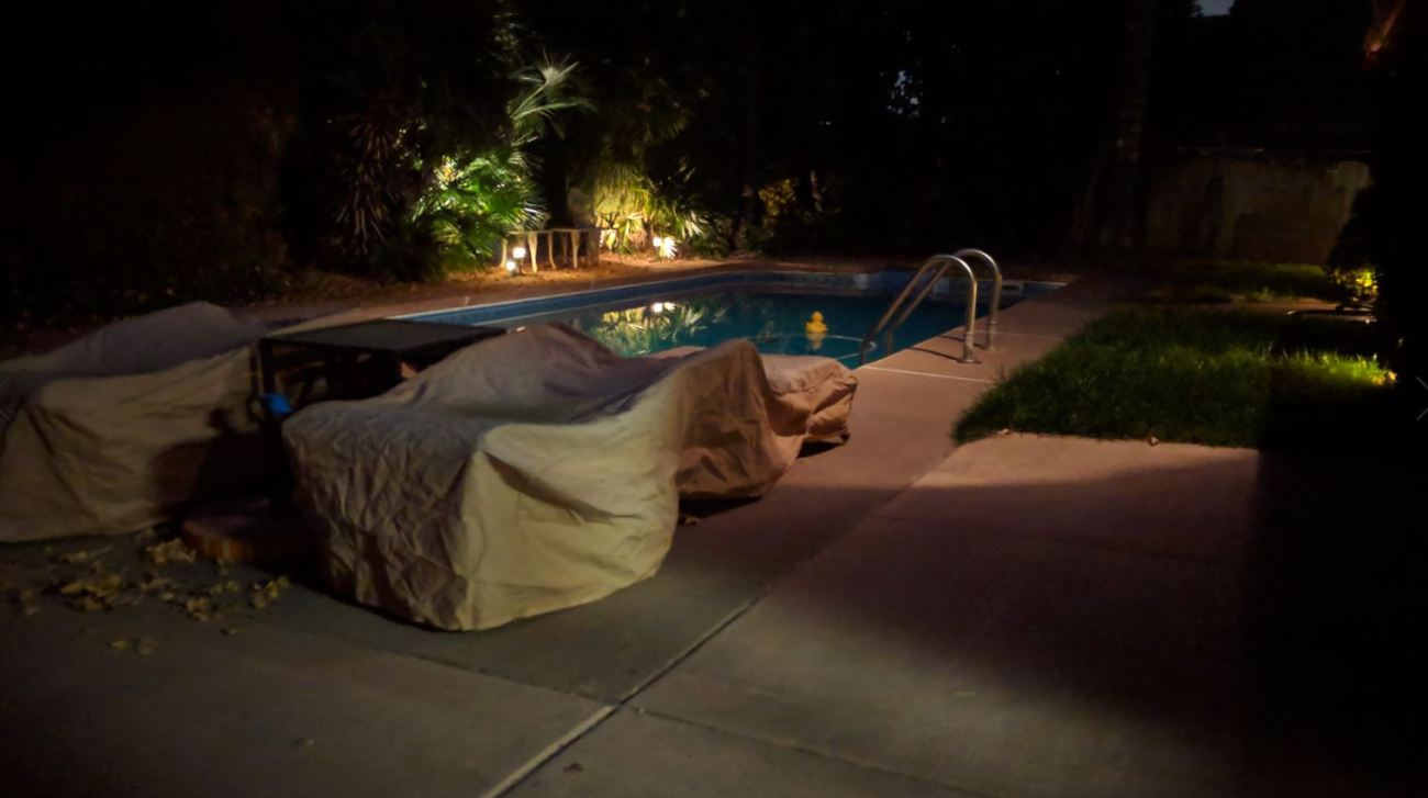 backyard no night sight