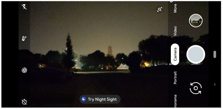 try night sight