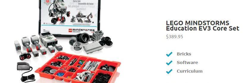 LEGO Mindstorms Education EV3 for STEM Enrichment